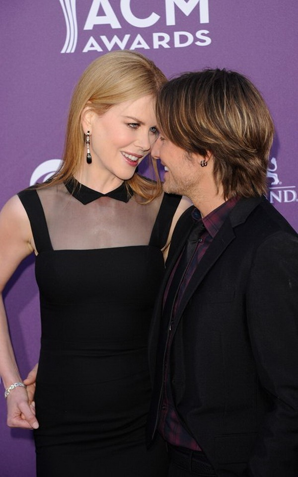 Nicole Kidman,husband Keith Urban @ 47th ACM Awards