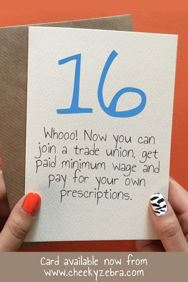 Funny 16th Birthday Card For Boys This Happy Is Perfect