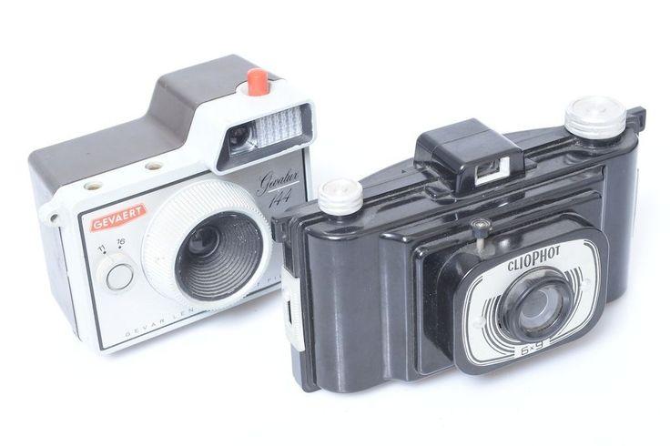 Geveart Gevalux 144 FEX 'Delta' Cliophot 6x9cm Bakelite Plastic Cameras   eBay
