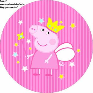Kit Imprimible GRATIS Peppa Pig Hada