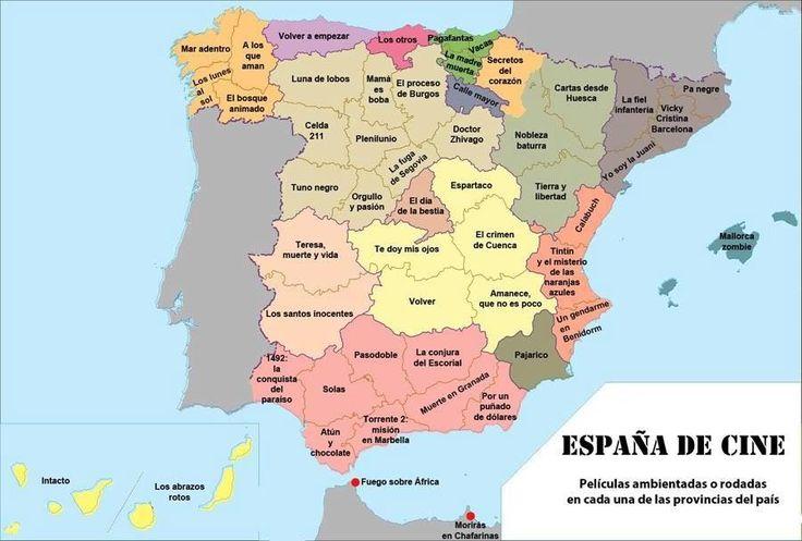 España de cine: películas ambientadas o rodadas en cada una de las provincias españolas