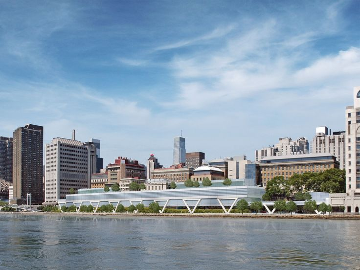 The Rockefeller University River Campus, Rafael Vinoly to be completed by 2020