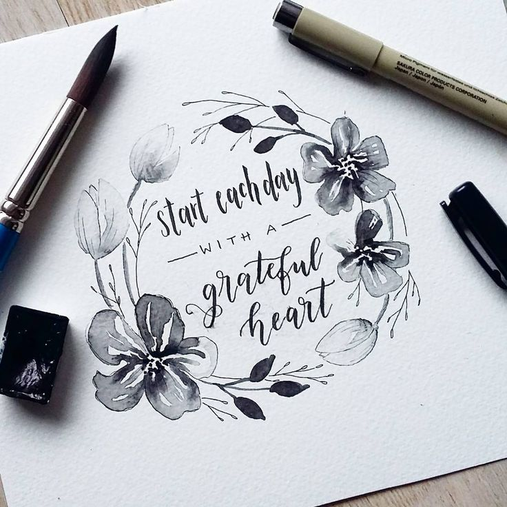 Black & white for #AprilWreathChallenge (hosting it together with @gemsandletters ) Quote for #bloombeautifulapril with @caribcreated & @liberty.lettering & @tunemyheartcollective and tulips for #letslearnflorals with @inkypaws_ & @lettersbypie . . . ✏: Tombow fude hard, sakura pigma micron 005, 01 : Sonnet studio watercolors, Winsor&Newton : Canson moulin du rouge (300gsm) . . . #letteringchallenge #lettering #handlettering #brushcalligraphy