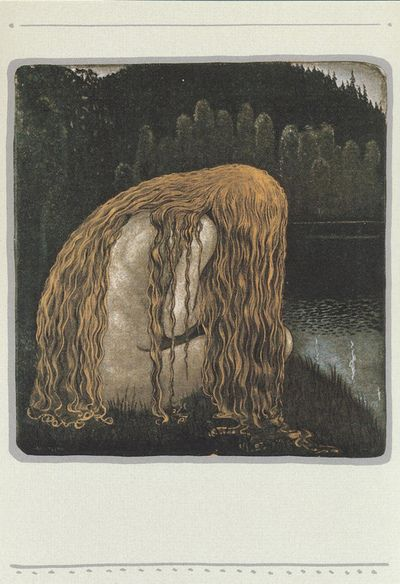 John Bauer, Swedish renowned illustrator