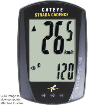 Wiggle | Cateye Strada Cadence Cycle Computer | Cycle Computers