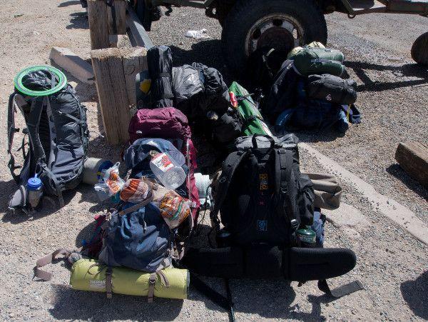 Packing for Havasupai