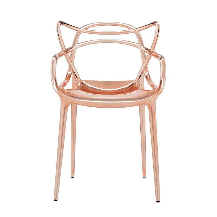 Masters Chaise, Cuivre - Philippe Starck & Eugeni Quitllet - Kartell - RoyalDesign.fr