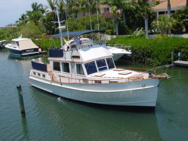 For almost two years, we lived and cruised aboard our 36' Grand Banks Trawler.
