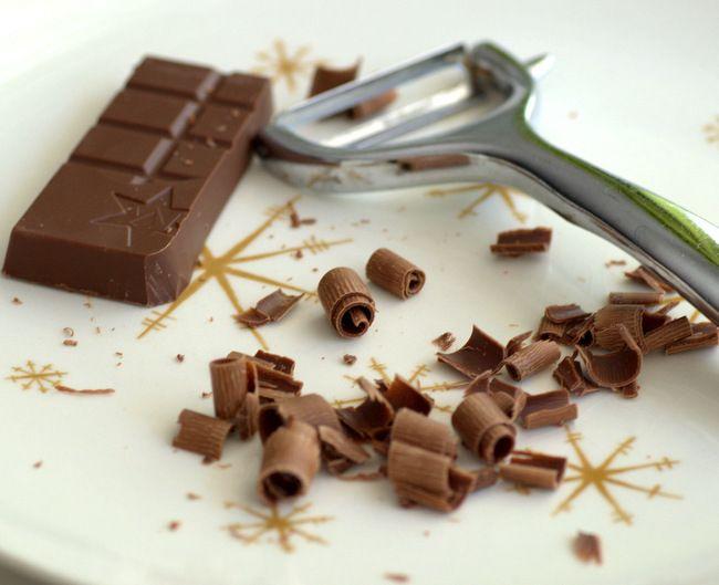 How to Make Chocolate Shavings &  Curls ~ Baking Bites