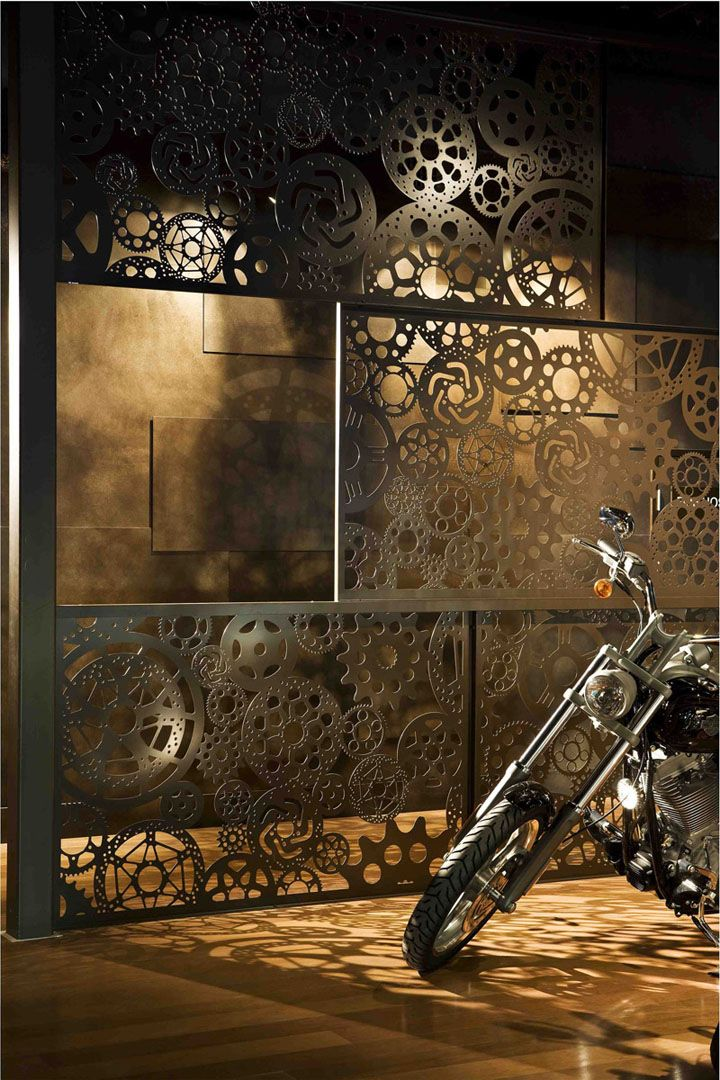 Fraser Motorcycles by Dreamtime Australia Design Sydney 03 Fraser Motorcycles by Dreamtime Australia Design, Sydney. motorcycle store