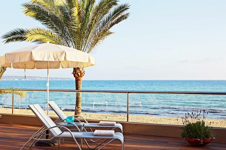 Sunprime Palma Beach, Mallorca, Spanien. Sunprime Palma Beach ligger direkt vid stranden och den fina strandpromenaden i Playa de Palma. För dig som är shoppingsugen och vill känna mer storstadspuls tar det endast tio minuter med bil eller buss till Palma stad. Läs mer på http://www.ving.se/spanien/playa-de-palma/sunprime-palma-beach/?utm_source=pinterest&utm_medium=social-media&utm_campaign=sunprime_map