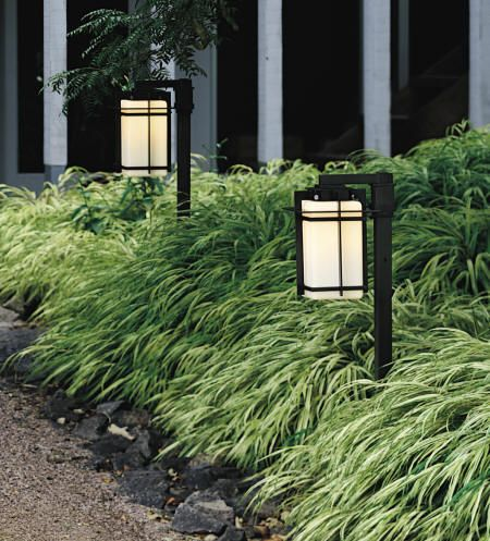 Need more of this grass and some pretty japanese lanterns in my yard...