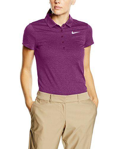 €13.65 in Gr. S * Nike Damen Präzision Heather Polo Shirt *** günstige Sportbekleidung