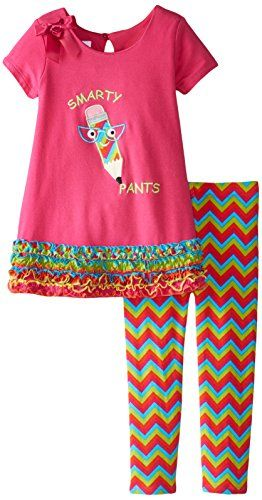 Bonnie Jean Little Girls' Smarty Pants Legging Set, Fuchsia, 6 Bonnie Jean http://www.amazon.com/dp/B00X7OVNFM/ref=cm_sw_r_pi_dp_tApTvb0Z052HQ