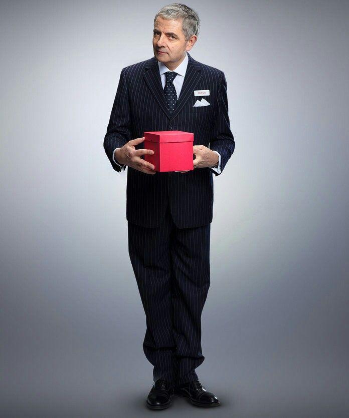 Rowan Atkinson Red Nose Day