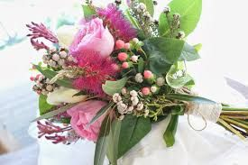 Image result for rustic wedding bouquets australian natives