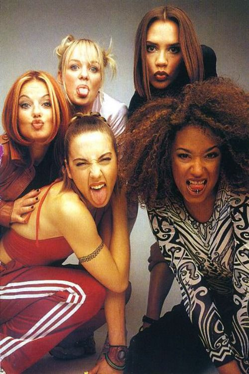 Spice Girls... Guilty pleasure... Ginger was my favorite