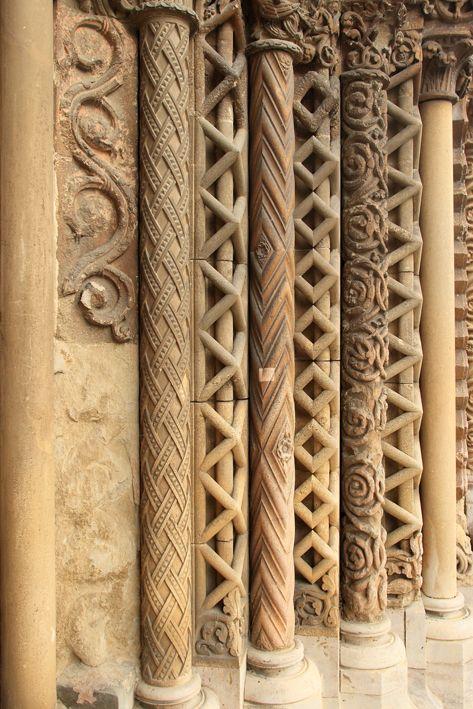Jáki templom (A templom kapuzatának részlete)