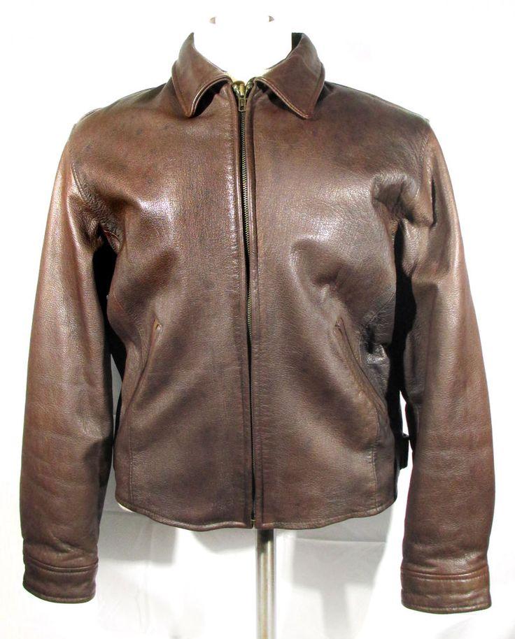 J. Crew Leather Bomber Jacket