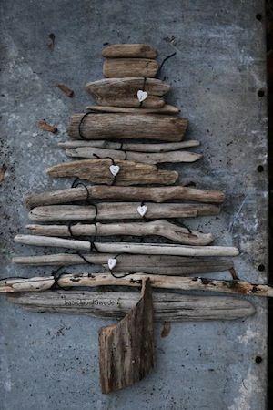 drift wood tree outside decor