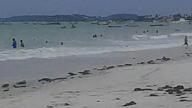 Ilha de Itamaracá vista de Ponta de Pedra