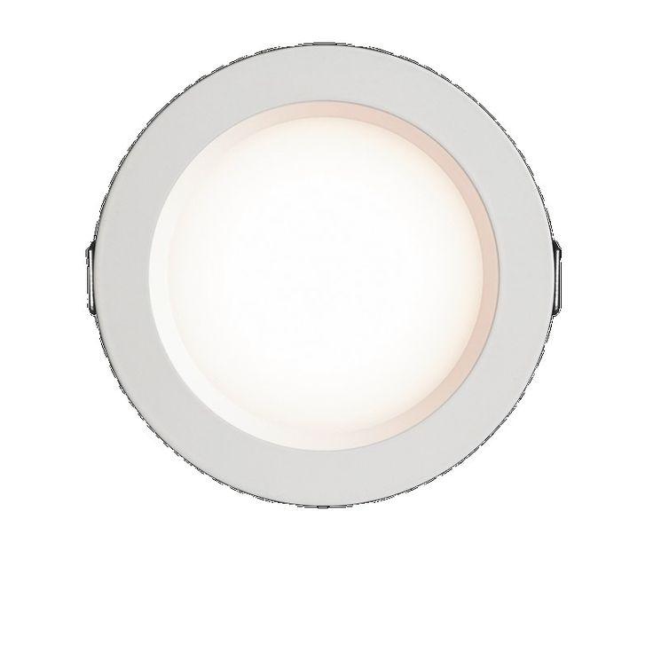 HPM 10W 830L 3700K LED White Fixed Downlight