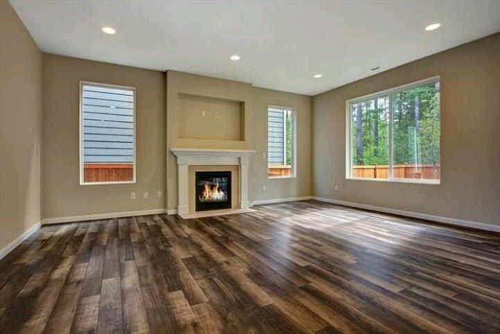 Rustic hardwood floors | For the home | Pinterest | House