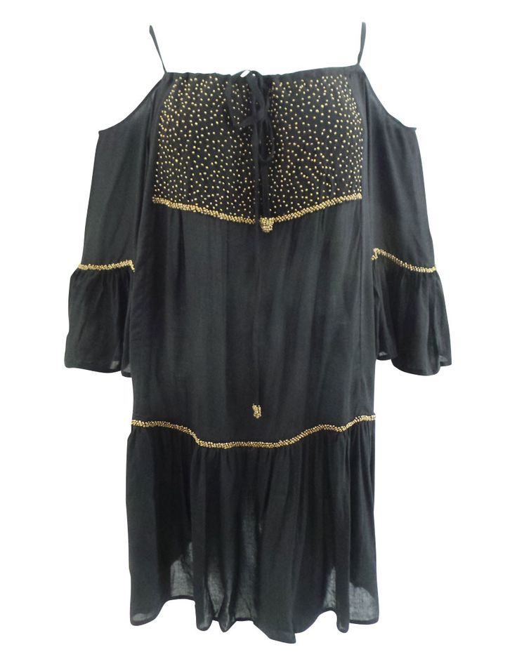Casual resort wear clothing hand beaded, one size fit to L.