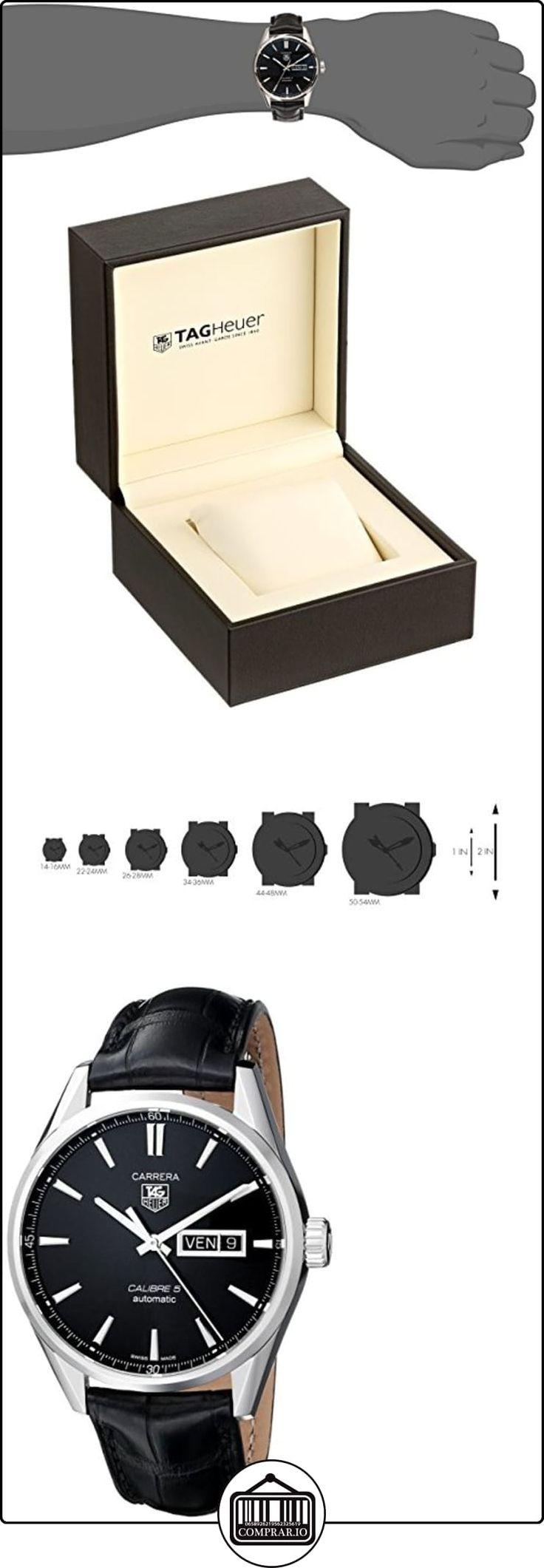 TAG Heuer eysse-reloj de pulsera analógico rhöna cuero WAR201A, FC6266  ✿ Relojes para hombre - (Lujo) ✿