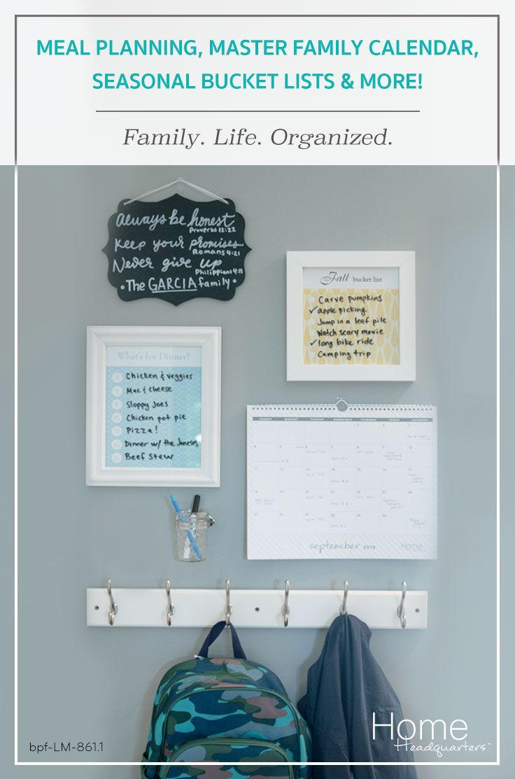 Building a Home Headquarters command center is a simple, impactful & stylish way to get your whole family in-the-know about the weekly schedule, meal plan and more!  Check it out!