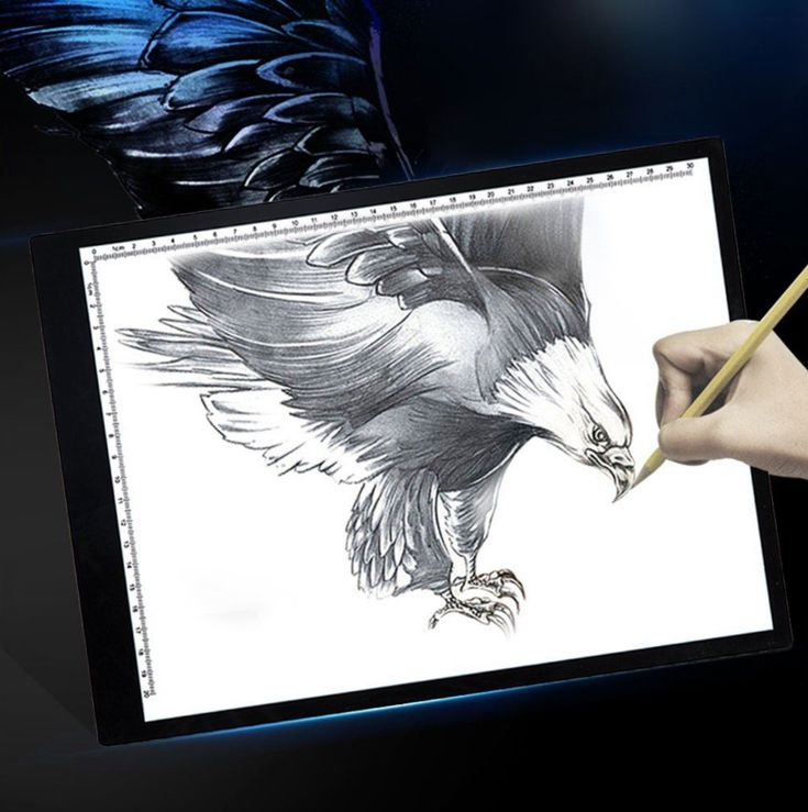 Digital Drawing Tablet Tracing Light Box Electronic Sketch Board Tattoo Led Pad
