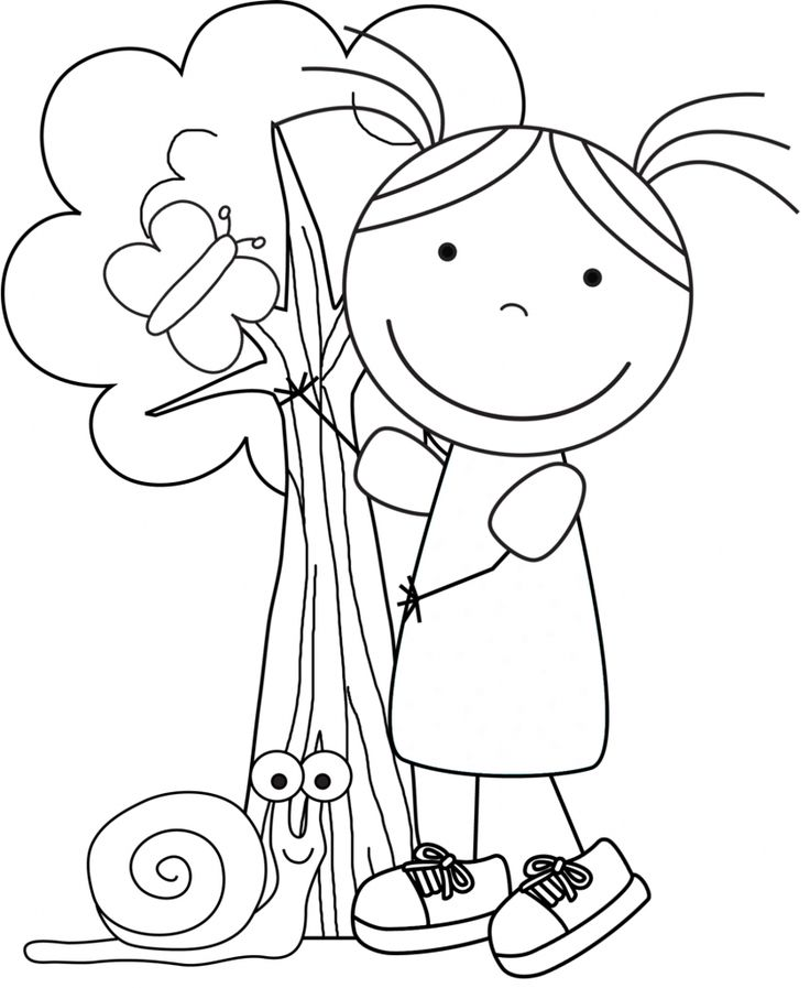 More Earth Day coloring pages