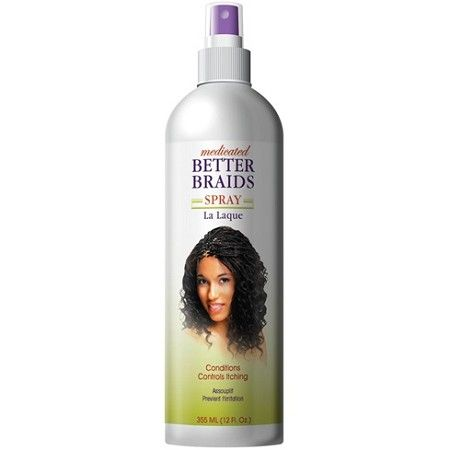 Better Braids Medicated Spray 12 oz $5.39   Visit www.BarberSalon.com One stop shopping for Professional Barber Supplies, Salon Supplies, Hair & Wigs, Professional Product. GUARANTEE LOW PRICES!!! #barbersupply #barbersupplies #salonsupply #salonsupplies #beautysupply #beautysupplies #barber #salon #hair #wig #deals #sales #BetterBraids #Medicated #Spray