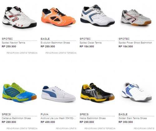 Daftar Harga Sepatu Badminton Original Terbaru
