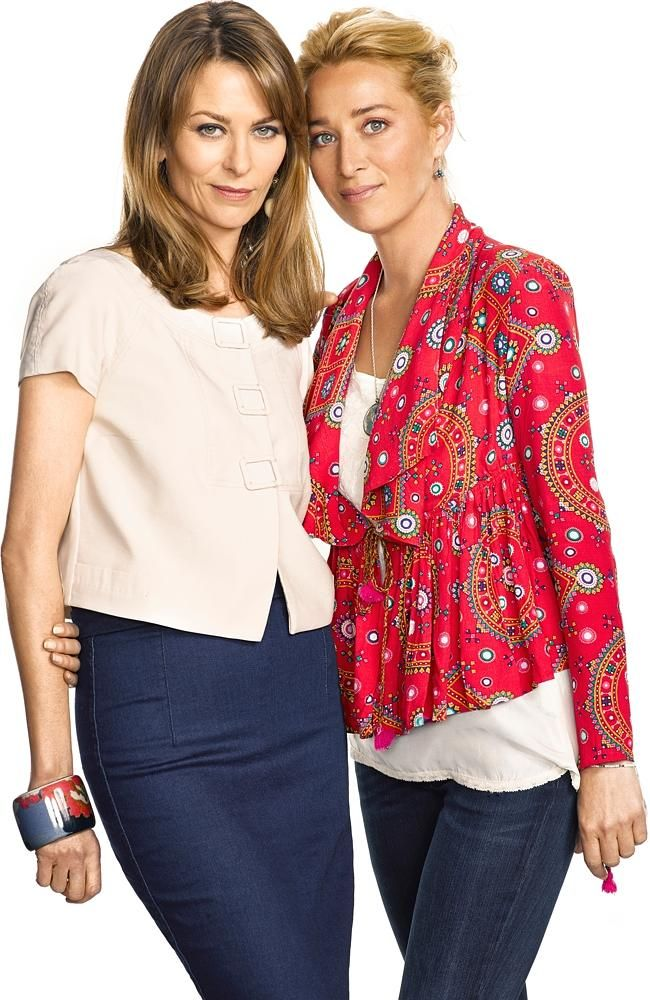 Offspring season 5 - Kat Stewart, Asher Keddie