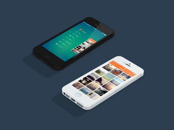 Instasave iPhone App - iOS 7 by Chirag Dave  #ui #app #iphone #nikhill