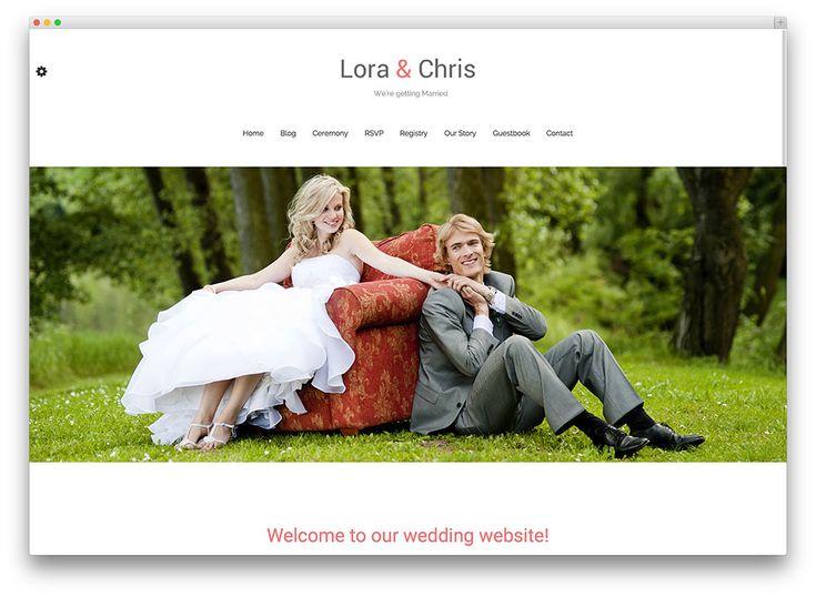 20+ Beautiful and Free WordPress Wedding Themes 2015 - Colorlib ...