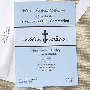 Best 25 First Communion Invitations Ideas On Pinterest