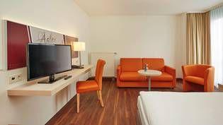 Geräumige Zimmer mit viel Platz zum Wohlfühlen im H+ Hotel Limes-Thermen Aalen
