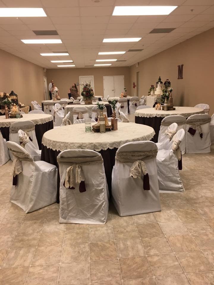 Small church wedding reception