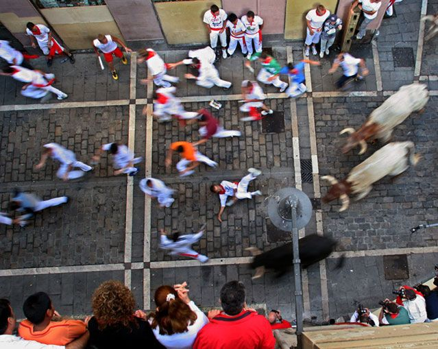 How to survive the running of the bulls