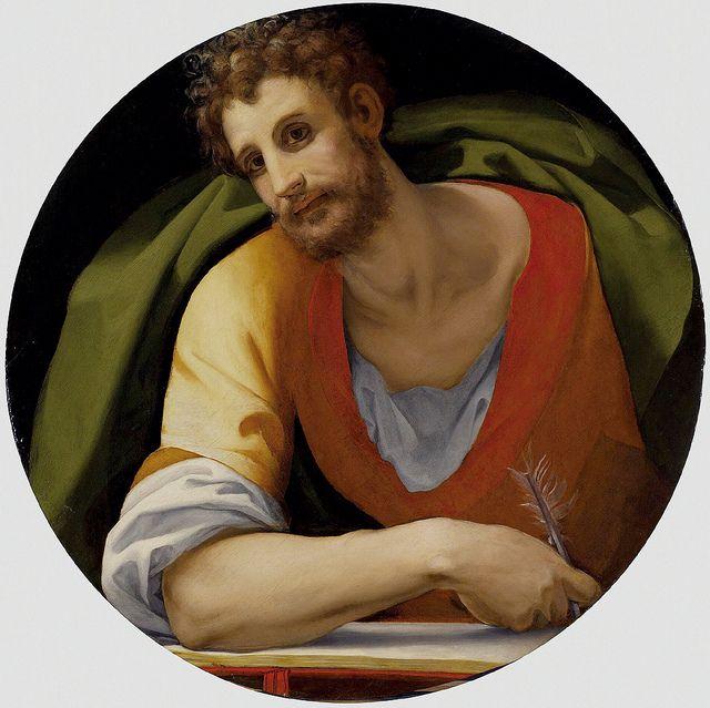 Bronzino or Pontormo - Evangelist San Marco by petrus.agricola, via Flickr