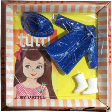 *1966 Fashion puddle jumpers Tutti & Chris outfit 2 #3601