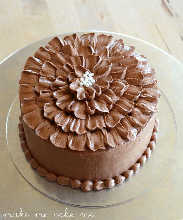 Chocolate Ruffle Cake Video Watch Me