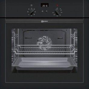 Neff B14m42s5gb Electric Built In Single Oven With Circotherm Black SchiebetürenÖfenküchengeräteideen
