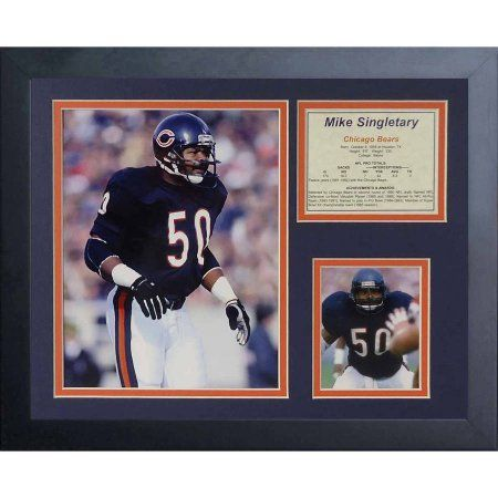 Legends Never Die Mike Singletary Framed Photo Collage, 11 inch x 14 inch