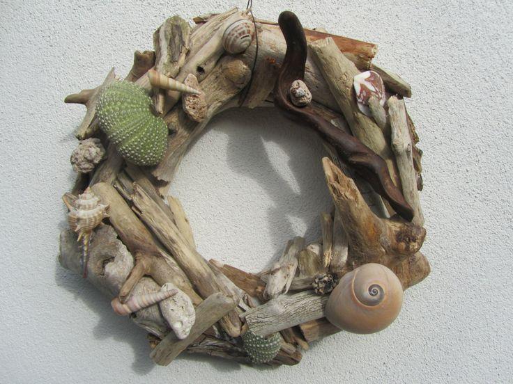 Driftwood wreath by DriftwoodDecorByBeth on Etsy