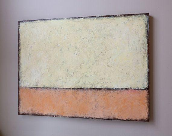 arte modean un mínimo Resumen pintura acrílica modean por artbyoak1