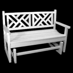 Polywood Recycled Plastic Chippendale Arm Chair - Outdoor Chairs at Hayneedle