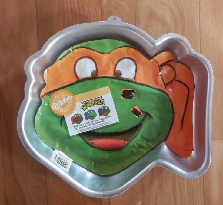 Teenage Mutant Ninja Turtle Cake Pan Uk